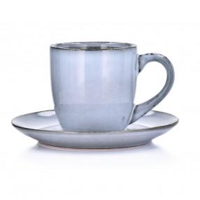 Чаша с чиния DUKA LAGUN 170 мл., син