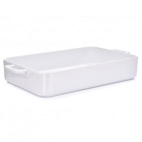 Форма за печене DUKA NIKLAS 36х22х6 см., бял