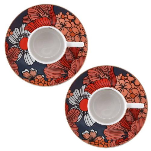 Сет чаши с чинии DUKA VALLMO 90 мл.
