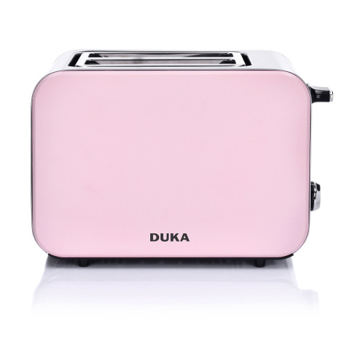 Тостер с две отделения DUKA BOSSE, розов