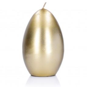 Свещ яйце DUKA GODIS 12 см., златно