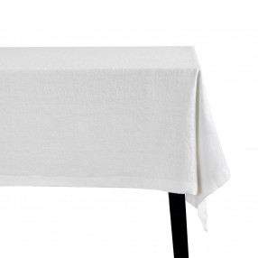 Покривка DUKA JACQUARD 275x150 см. бял