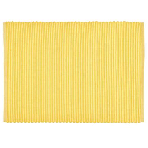 Подложка за хранене DUKA RIB 48x36 см., жълт