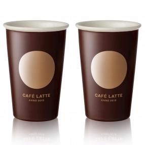 Чаши за лате 2 бр. DUKA CAFE 300 мл.