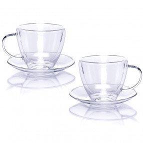 Чаши с двойно дъно 2 бр. DUKA LISE 380 мл.