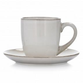Чаша с чиния DUKA LAGUN 170 мл., бежов