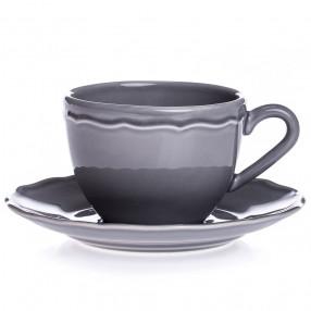 Чаша с чиния DUKA EMMA 200 мл.