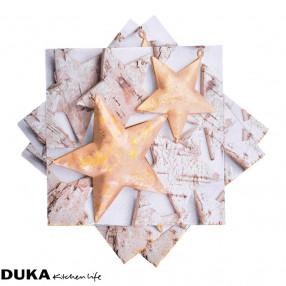 Хартиени салфетки DUKA LUNCH 33x33 см.