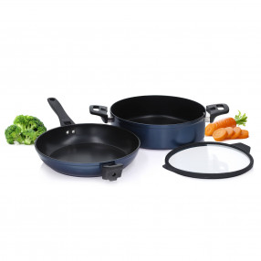 Сет за готвене 3 части DUKA INDYGO