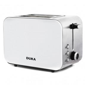 Тостер с две отделения DUKA BOSSE, бял