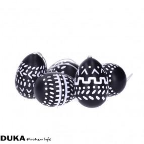 Декорация яйца 6 бр. DUKA NATURLIGA