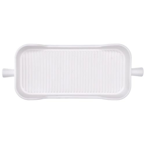 Тава за печене DUKA HJALMAR 38x15 см., бял