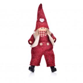 Кукла момче DUKA TOMTE 25 см., червена