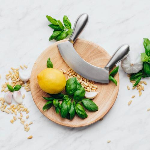 Дъска с нож за подправки DUKA VAXANDE