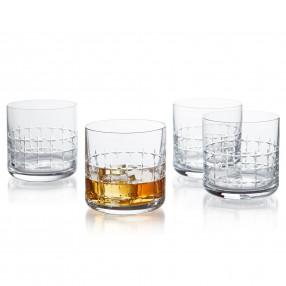 Чаши за уиски 4 бр. DUKA CRISTER  350 мл.
