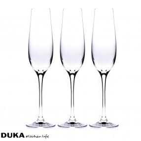 Чаши за шампанскo DUKA AURA 6 бр.