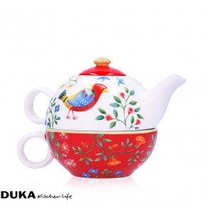 Чайник с чаша за чай DUKA PARADISE