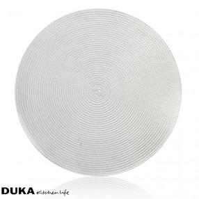 Подложка за хранене DUKA KIMKA 38 см., бял