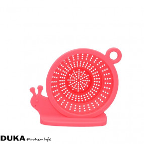 Запарка за чай охлюв DUKA KRUX, розов
