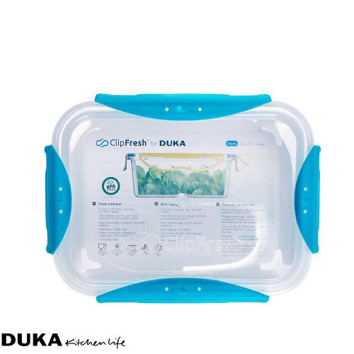 Контейнер за храна 0,4 л.DUKA CLIPFRESH