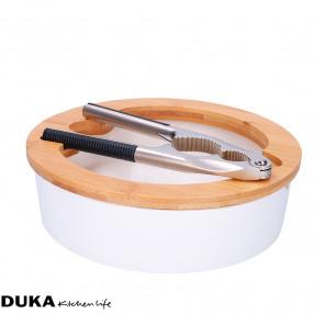 Трошачка за ядки със съд за съхранение DUKA WAREWOOD