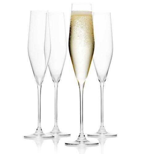 Чаши за шампанско 4 бр. DUKA SWAN 200 мл.