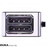 Тостер с две отделения DUKA BOSSE, черен