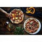 Тава за печене на пица DUKA HJALMAR 36x32 см., черен
