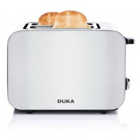 Тостер с две отделения DUKA BOSSE, сребрист