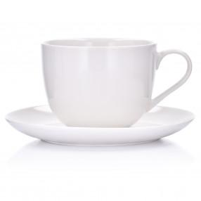 Чаша с чиния DUKA FELICIA JUMBO 300 мл.