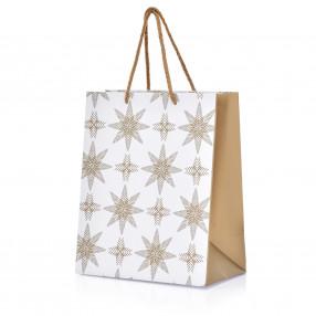 Торба DUKA BLIXTA 32x23 см., бял.