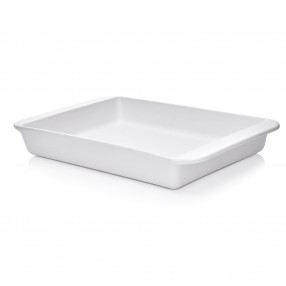 Форма за печене DUKA HJALMAR 42x27 см., бял