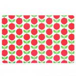Подложка за хранене DUKA FIKA FLORYD 45x30 см., червен